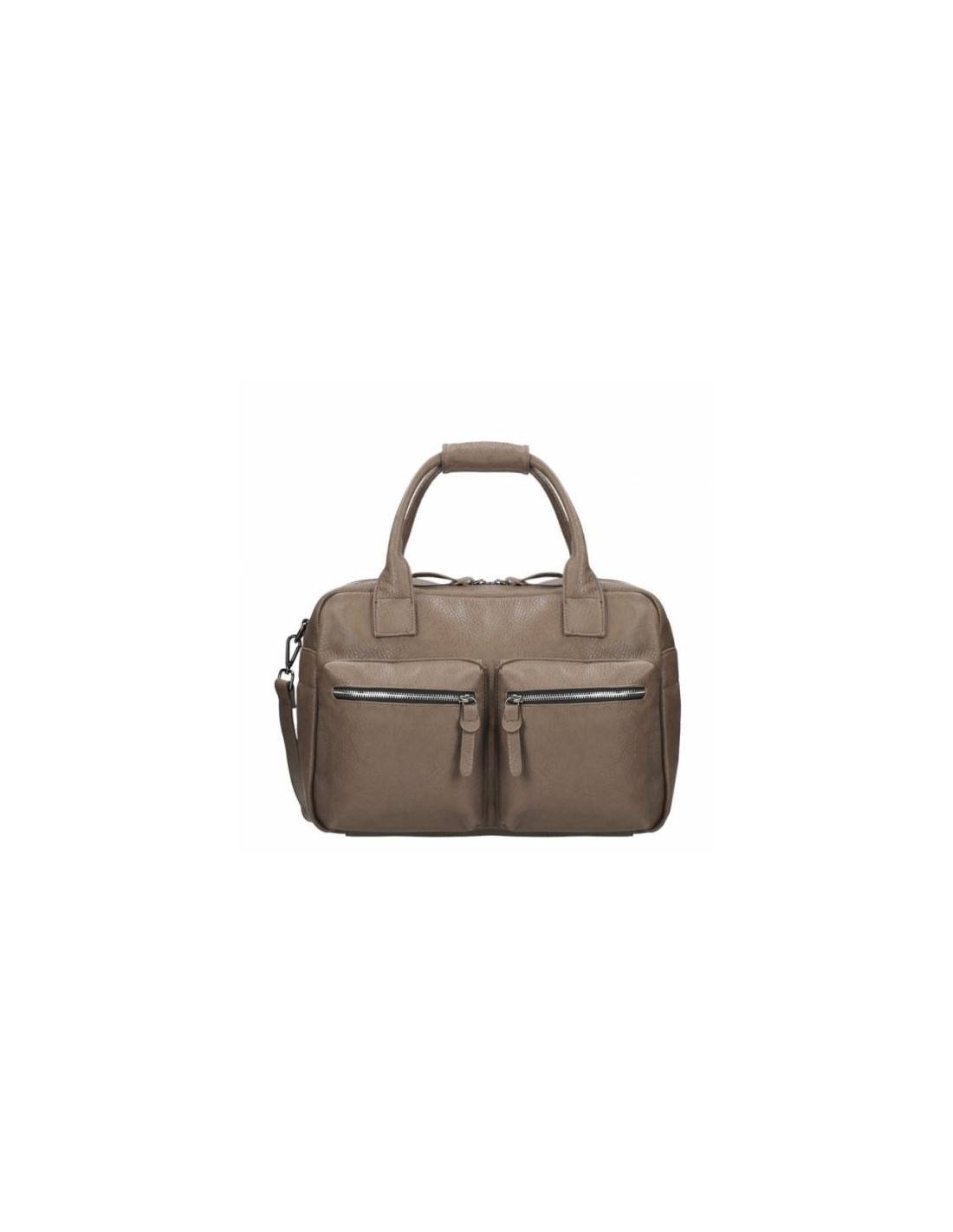 Schoudertas Taupe : Wimona schoudertas donkerblauw fuchsia koffer